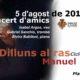 Dilluns al Ras – 5 de agosto: Concert d'Amics