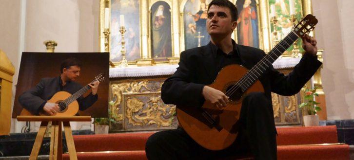 """XX Curso Internacional de Guitarra  """"Memorial Manuel Babiloni"""" – Concierto de Clausura, a cargo de Óscar Ebro"""